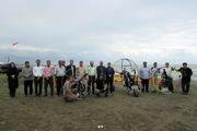 جانمایی فضای فرودگاه ساحلی پروازهای تفریحی در ساحل آستارا
