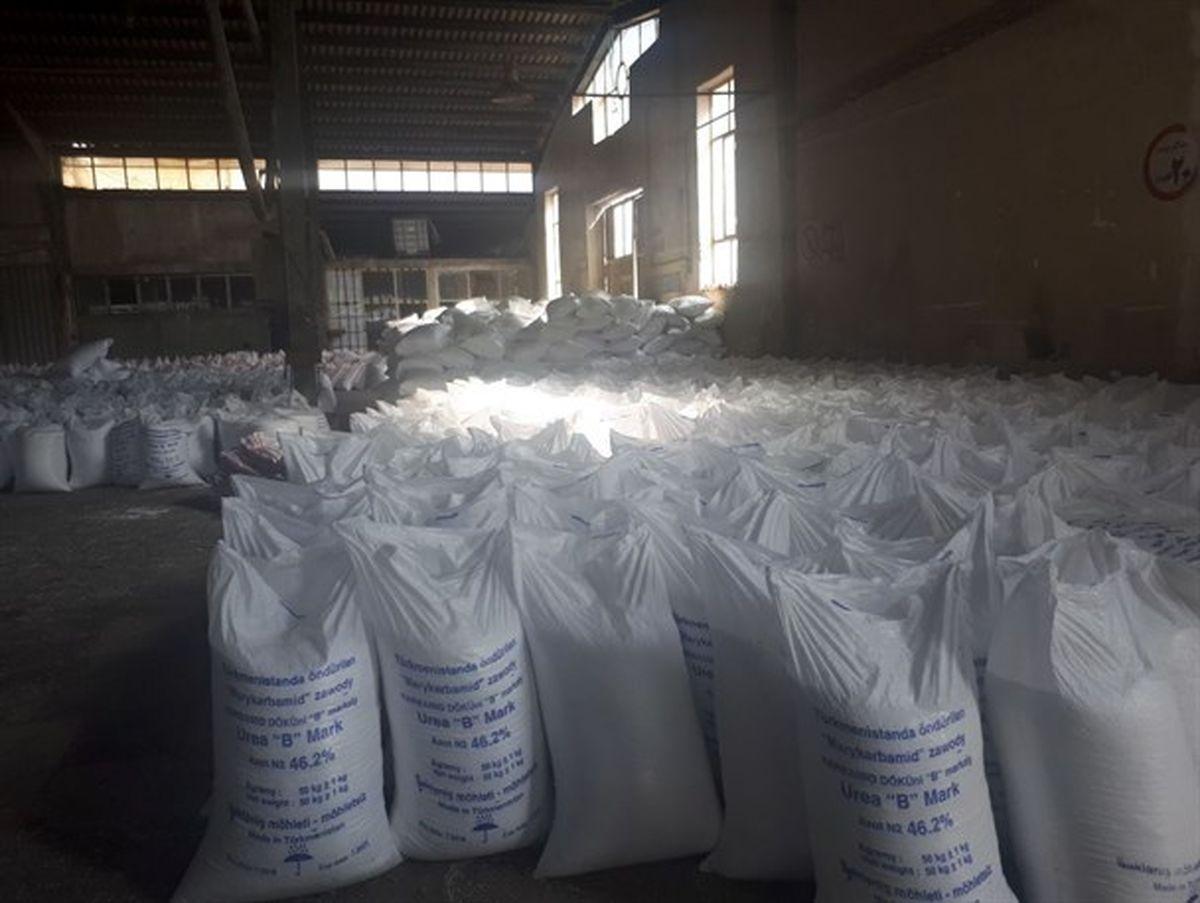 توزیع بیش از 12 هزار تن کود شیمیایی بین کشاورزان نکایی