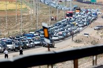 ترافیک نیمه سنگین شمال به جنوب محورهای هراز و فیروزکوه