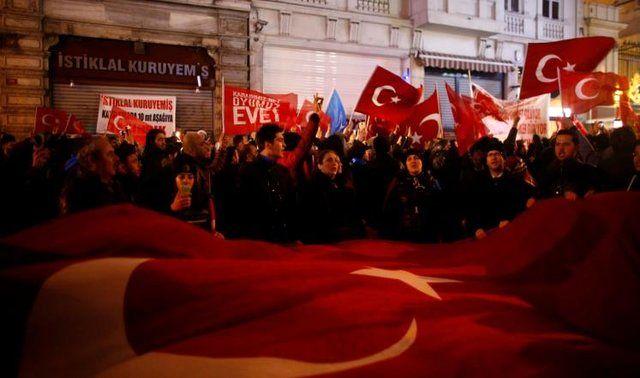 ترکیه سفارت هلند را بست و از سفیر هلندی خواست برنگردد