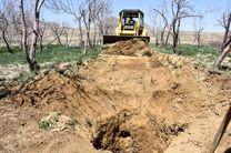 انسداد 53 حلقه چاه غیر مجاز در استان هرمزگان