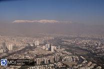 کیفیت هوای تهران ۱۹ تیر ۱۴۰۰/ شاخص کیفیت هوا به ۱۰۱ رسید
