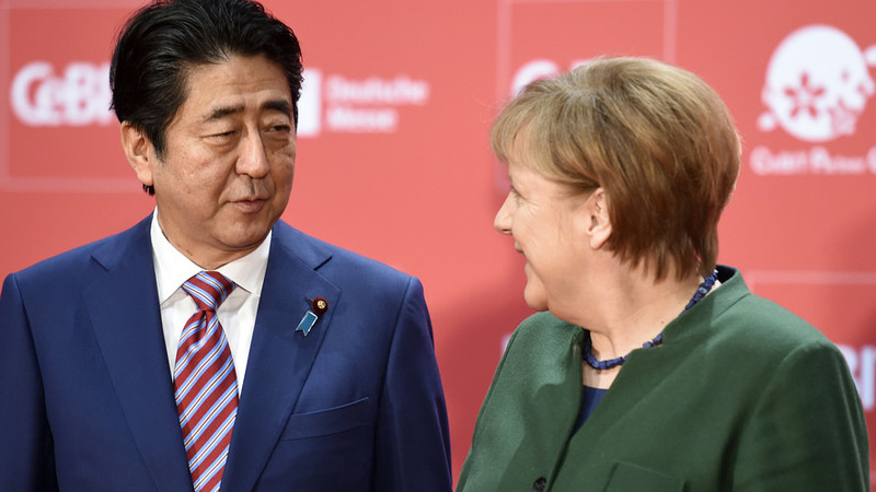 Japan, Germany asked peaceful solution for Venezuela's leadership crisis