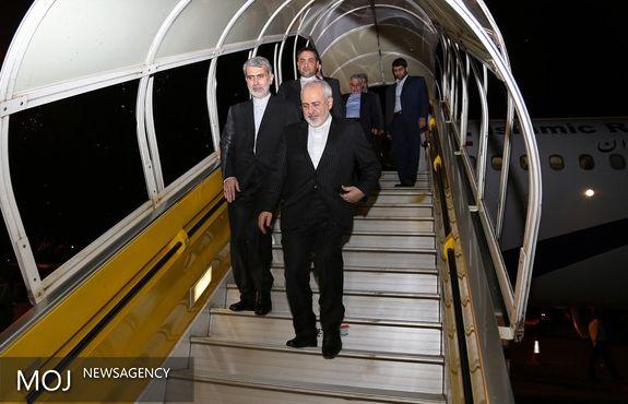 ظریف ساعتی پیش وارد تهران شد