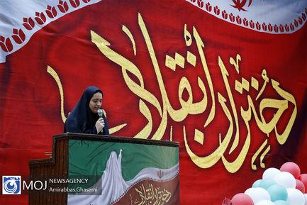 تجمع دختران انقلاب در ورزشگاه شهید شیرودی (۲)