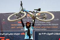 مقام هفتاد و دوم بانوی رکابزن ایران در کاپ جهانی کوهستان