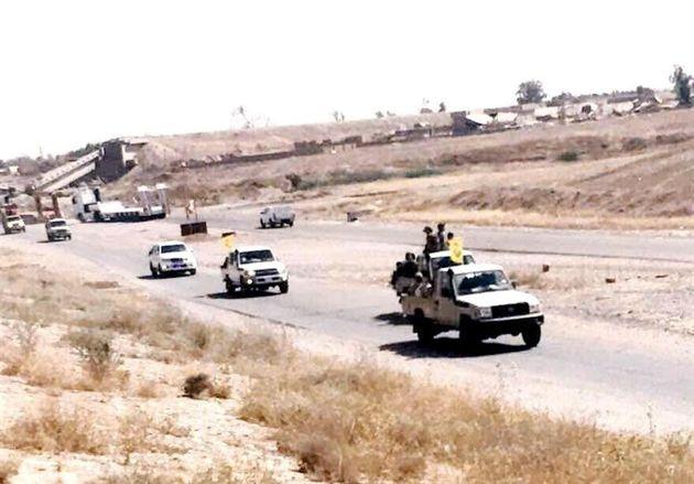 اعزام نیروهای ویژه نُجَباء برای آزادی مناطق مرزی عراق با سوریه