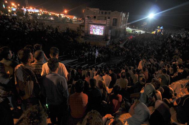 پخش مستقیم مسابقات جام جهانی در پارک ها