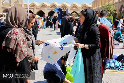 حال و هوای میدان امام علی (ع) اصفهان در آستانه نوروز