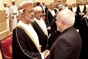 ظریف با پادشاه جدید عمان دیدار کرد