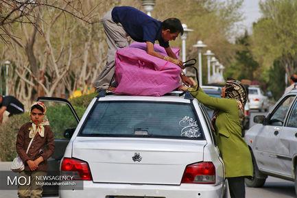 باغ فدک اصفهان میزبان مسافران نوروزی