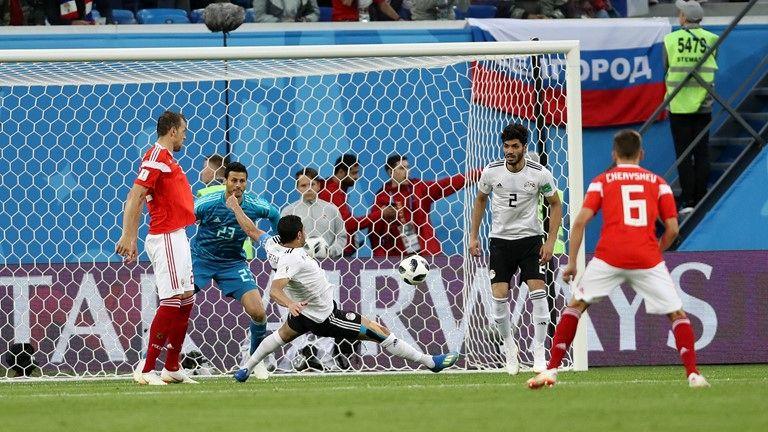 نتیجه بازی روسیه و مصر در جام جهانی/ صعود قطعی روسیه