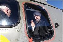 بازدید رئیس جمهور از مناطق سیل زده لرستان آغاز شد