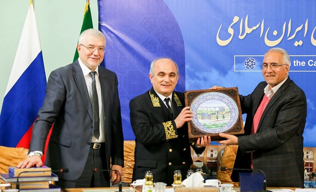 توسعه فعالیت های اقتصادی بین دو شهر اصفهان و سن پترزبورگ