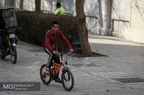 راه اندازی اولین مسیر ایمن دوچرخهسواری در بزرگراههای پایتخت