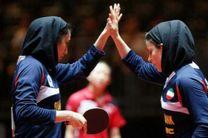 مسابقات تنیس روی میز دونفره تور ایرانی بانوان به پایان رسید