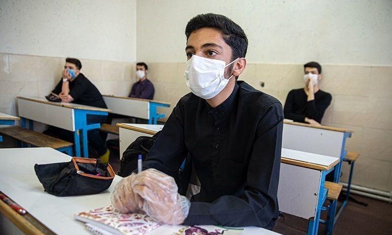 بیماری کووید ۱۹ با حضور دانش آموزان در مدارس به آنها منتقل نمی شود