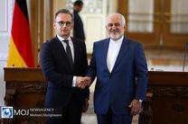 وزیر خارجه آلمان با ظریف دیدار و گفت و گو کرد