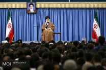 دیدار فرهنگیان با مقام معظم رهبری