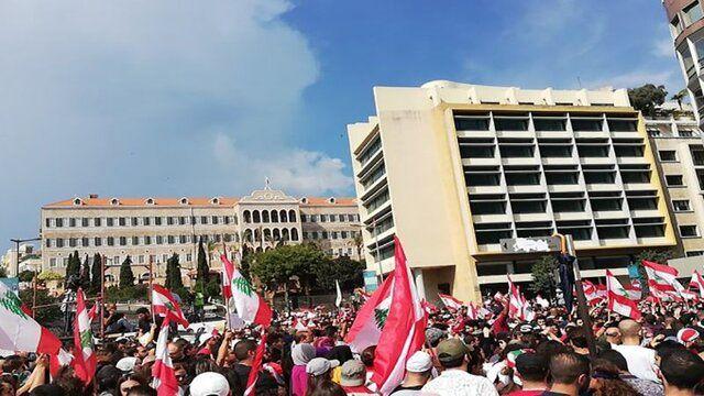 تظاهرات در لبنان ۴۲ زخمی برجای گذاشت