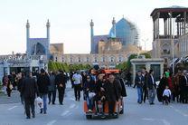 میدان امام مقصد نخست گردشگران نوروزی به اصفهان بوده است/ رکورد بیشترین میزان اقامت گردشگران در اصفهان در نوروز 96 شکسته شد