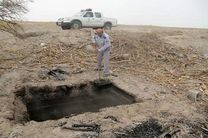 تخریب یک کوره زغال در شهرستان بندرلنگه