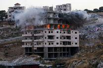 رژیم صهیونیستی 12 ساختمان متعلق به فلسطینی ها را تخریب کرد