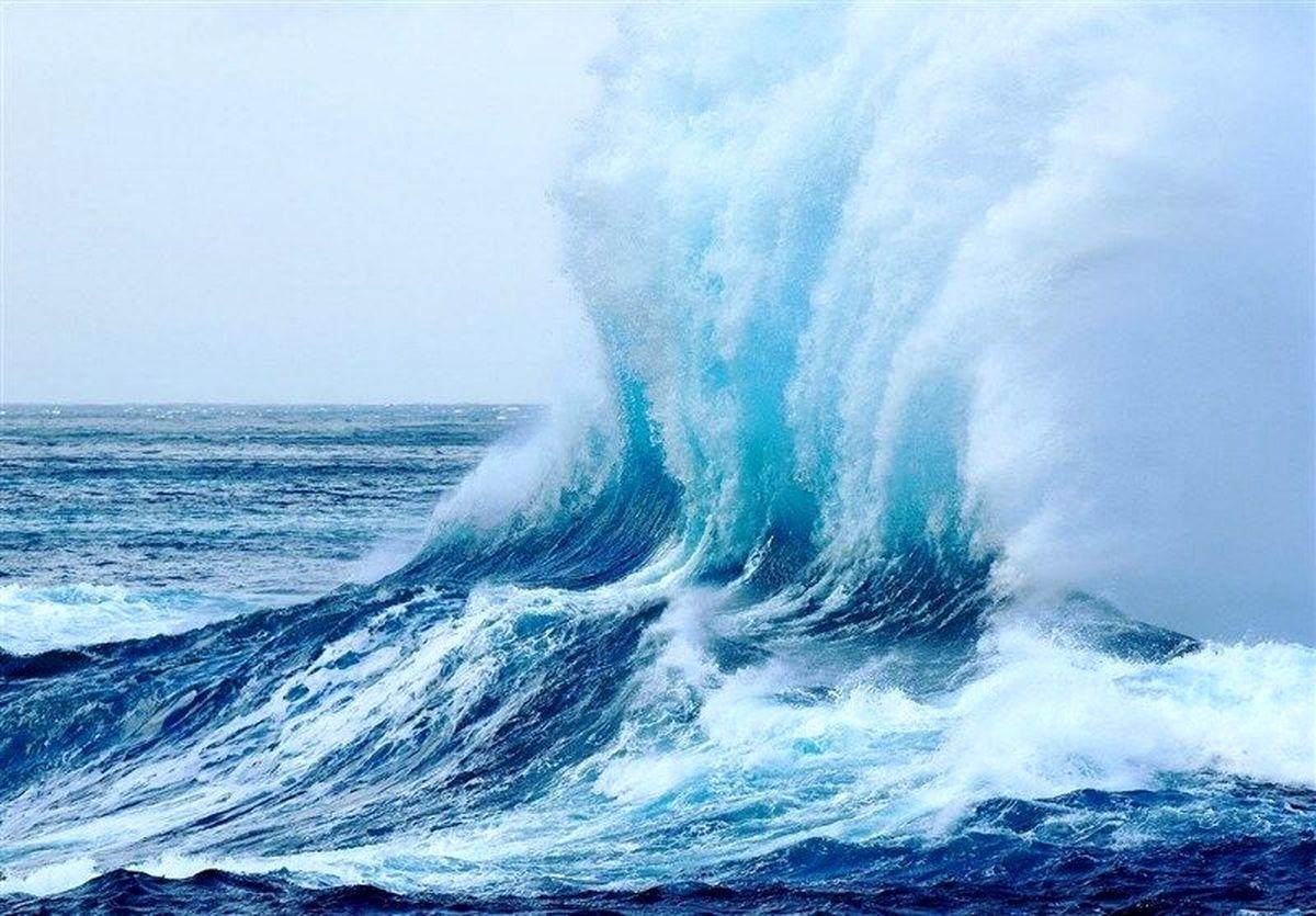 وزش باد شدید و مواج شدن دریای هرمزگان