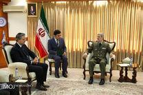 دیدار سفیر ترکیه با وزیر دفاع