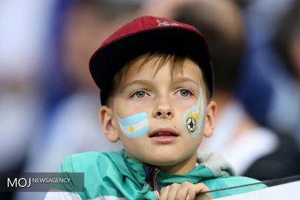 دیدار تیم های آرژانتین و کرواسی