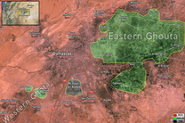 پیشروی میدانی ارتش سوریه در غوطه شرقی و  شکسته شدن خطوط دفاعی تروریستها در جنوب منطقه