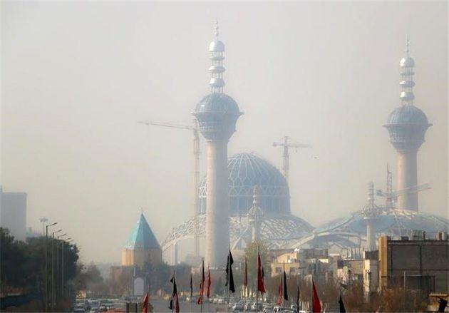 هوای اصفهان در شرایط ناسالم قرار گرفت