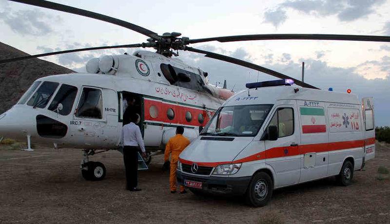 راه اندازی اورژانس هوایی در بوستان ولایت