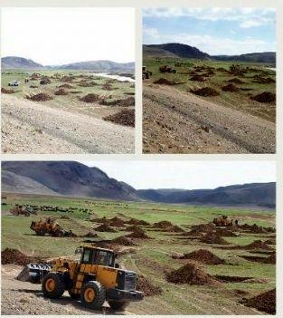 15.5هکتار از اراضی دریاچه سد زاینده رود رفع تصرف شد