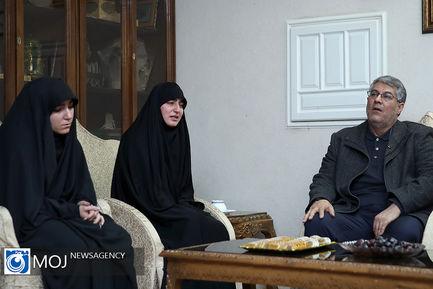 حضور رییس جمهوری در منزل سپهبد شهید قاسم سلیمانی