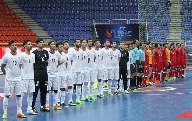 ترکیب ایران و روسیه در مسابقات ۴ جانبه فوتسال اصفهان مشخص شد