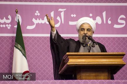 سفر حسن روحانی به کرمانشاه