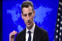 آمریکا حملات راکتی به سرزمین اشغالی را محکوم کرد