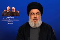 سخنرانی دبیر کل حزب الله لبنان آغاز شد