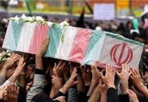 تشییع پیکر ۷ شهید مدافع حرم