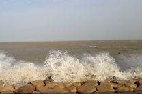 خلیج فارس مواج است/ترددهای دریایی با احتیاط صورت گیرد