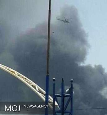 آتش مخزن ۲۰۰۱c مجتمع پتروشیمی ماهشهر خاموش شد