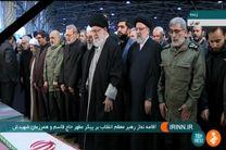 دعای خاص رهبر معظم انقلاب در حق سردار سلیمانی