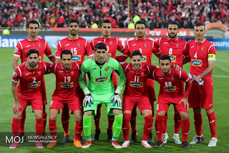 ترکیب احتمالی پرسپولیس برابر تیم الجزیره امارات اعلام شد