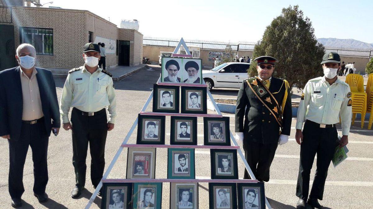نیروی انتظامی اردستان 15 شهید تقدیم نظام جمهوری اسلامی تقدیم کرده است