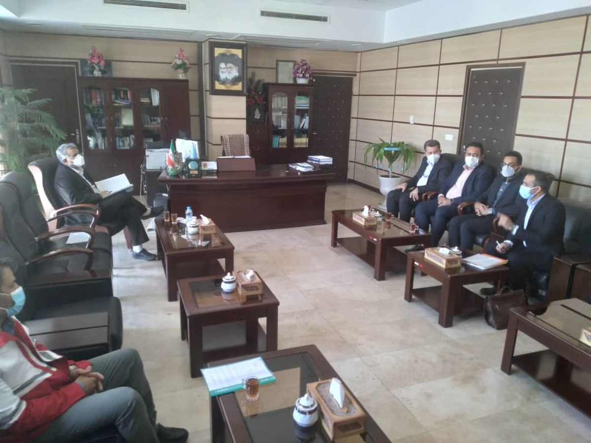 سفر مدیر کل حقوقی جمعیت هلال احمر به استان یزد  و دیدار با مدیرکل دادگستری یزد
