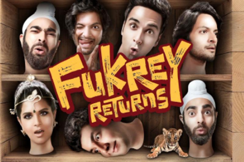 دانلود زیرنویس فیلم Fukrey Returns 2017