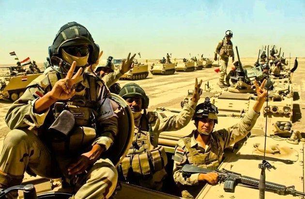 خیز الحشد الشعبی عراق برای آزادسازی گذرگاه التنف در سوریه