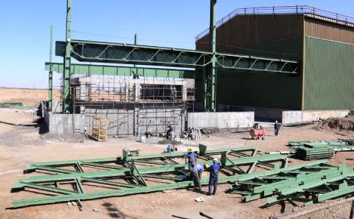 پیشرفت 47 درصدی ساخت و تجهیز سالن رنگ و سندبلاست ناحیۀ فولادسازی و ریخته گری مداوم