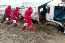 عملیات امداد و نجات در جازموریان ادامه دارد